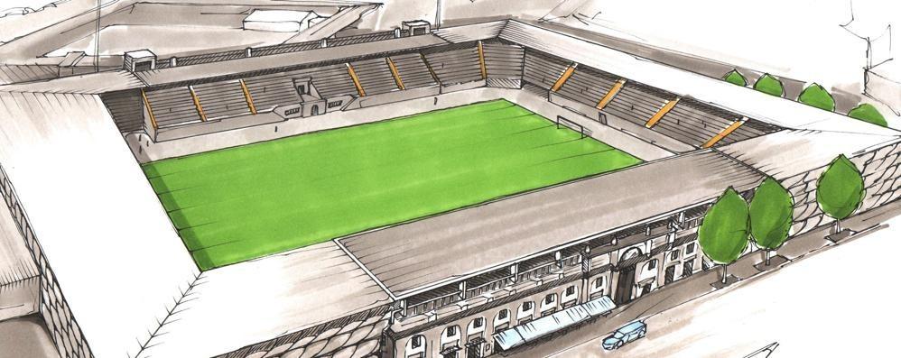 L'Atalanta inaugurerà il suo nuovo stadio nel 2021