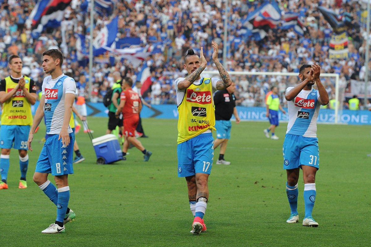 La triste giornata anti-Napoli dei tifosi della Sampdoria