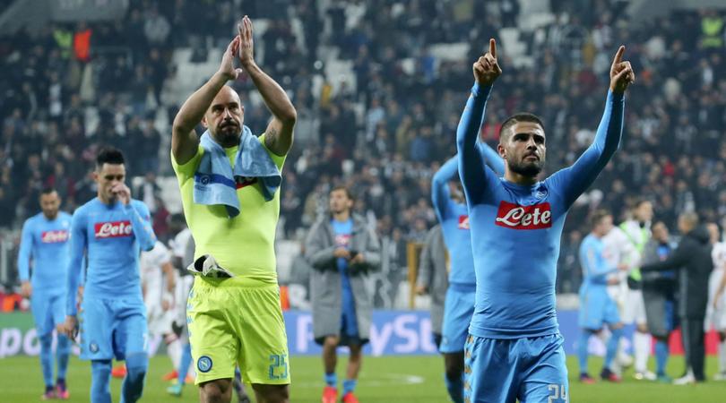Il nuovo Ranking Uefa: Napoli 13esimo a 70 punti