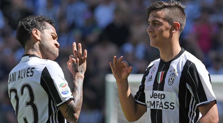 Dani Alves: «Dybala dovrà lasciare la Juventus se vorrà migliorare per tutto il suo potenziale»