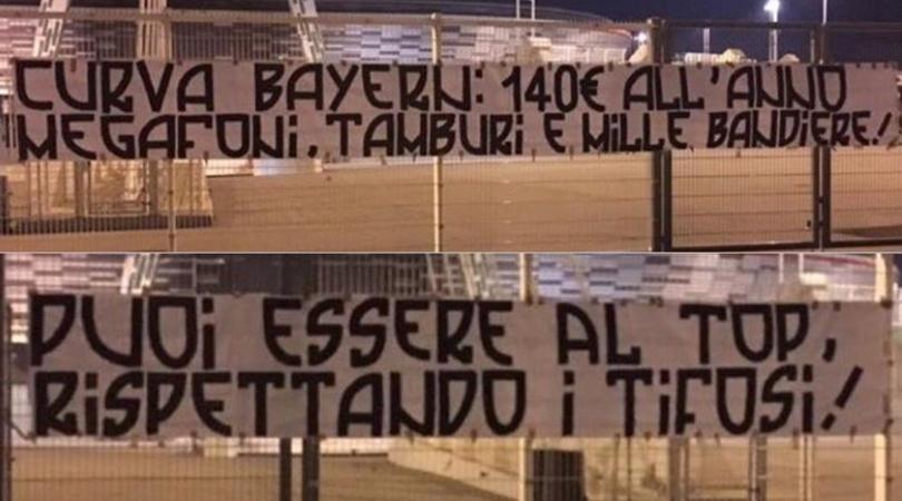 Le proteste dei tifosi della Juventus per il caro biglietti: «Puoi essere al top rispettando i tifosi»
