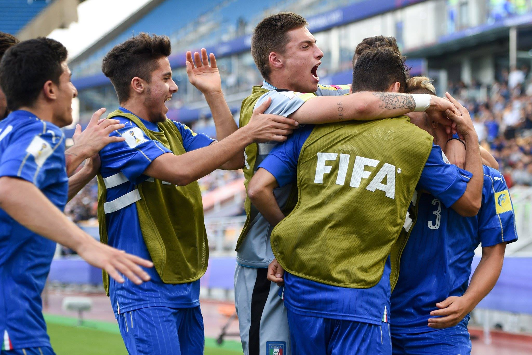 Mondiali Under 20, storica Italia: 3-2 allo Zambia, è la prima semifinale di sempre