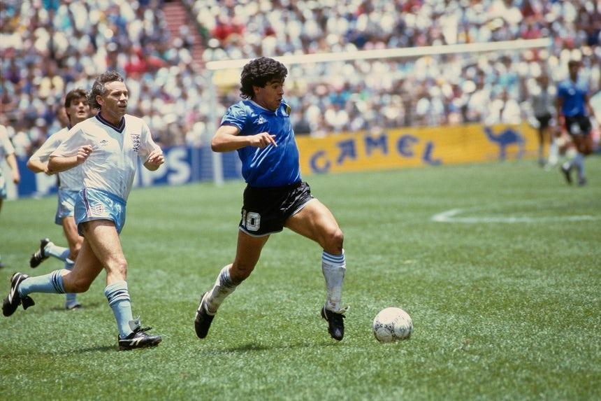 Maradona, la mano de Dios e la speranza di Napoli