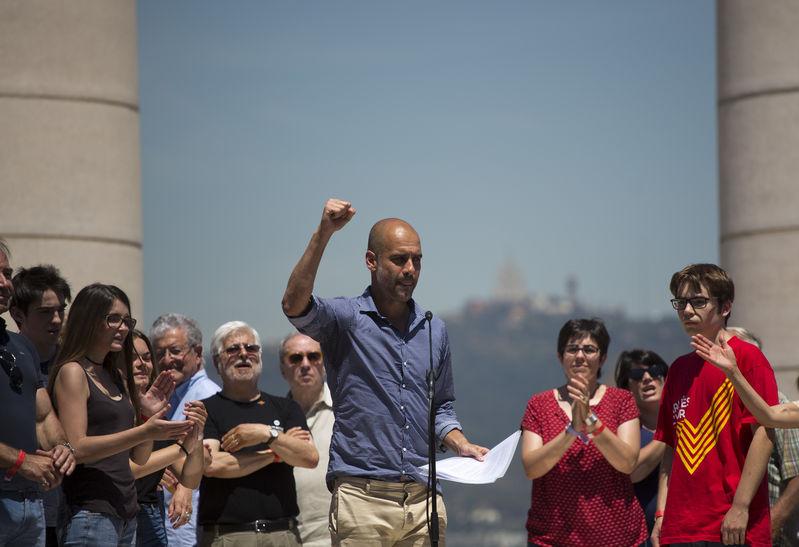 Il ritorno di Guardiola, leader dell'indipendentismo catalano