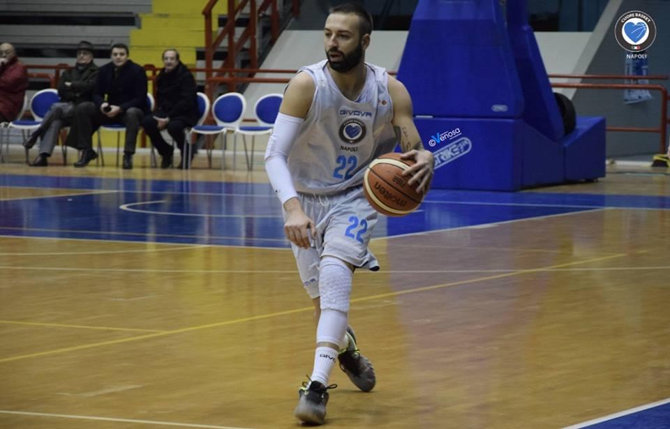 Maggio: «Ero bambino, ricordo il PalaBarbuto pieno, ora sono capitano del Napoli basket»