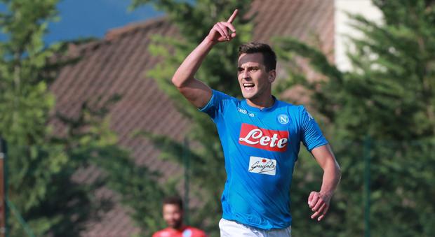 Gazzetta: «Riecco Milik, il polacco potrebbe rientrare per Cagliari-Napoli»