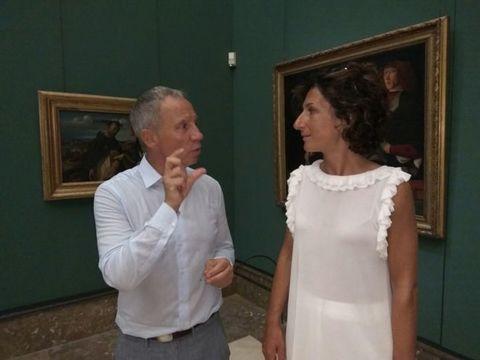 Capodimonte, Bellenger al Napolista: «Anche al Louvre si fa così, la moglie di Renzi first lady fino a pochi mesi fa»