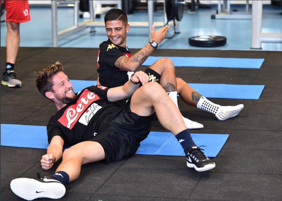Il Napoli comincia la stagione con gli onori e gli oneri dell'entusiasmo