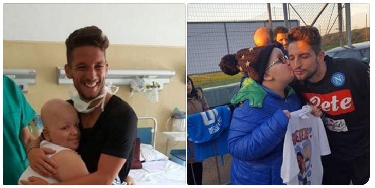 L'amore tra la piccola Aurora e Dries Mertens, la madre: «Non si sono più separati»