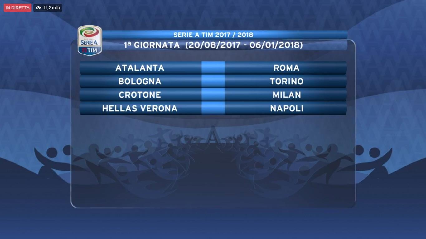 Roma Calendario Serie A.Live Serie A Il Calendario Roma E Inter Alla 9a E Alla