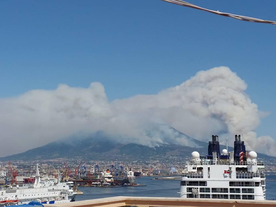 Il Vesuvio brucia, dovrebbe essere emergenza nazionale (foto)