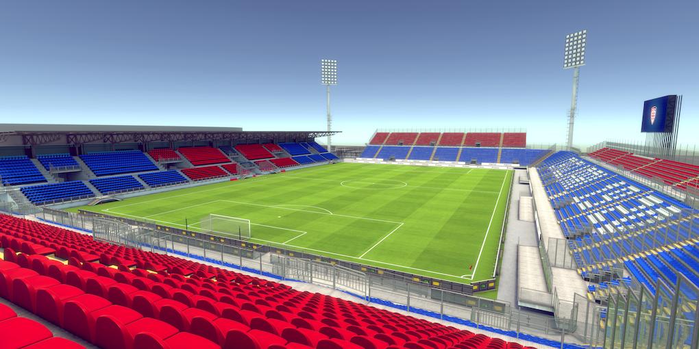 Il Cagliari ha il suo nuovo stadio (provvisorio): la Sardegna Arena in attesa del nuovo impianto