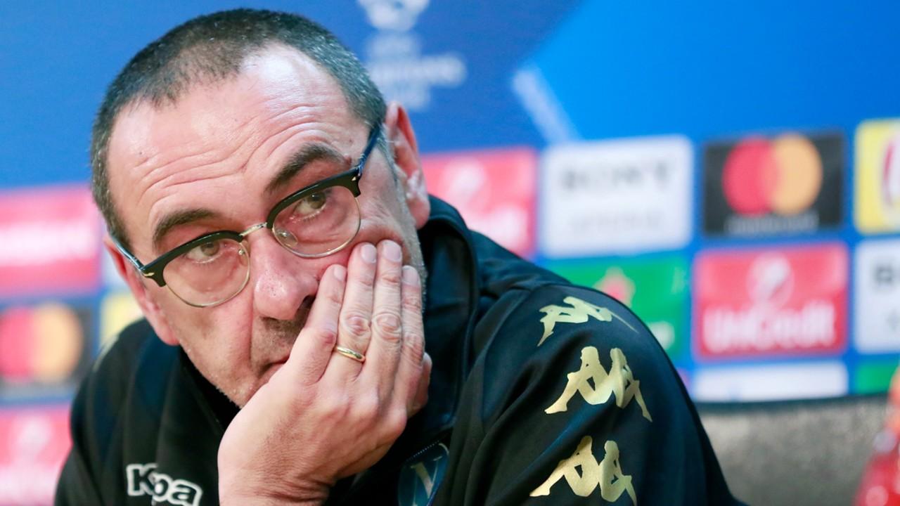 Sarri: «La partita di oggi mi ha confortato, deve confortare anche i calciatori»