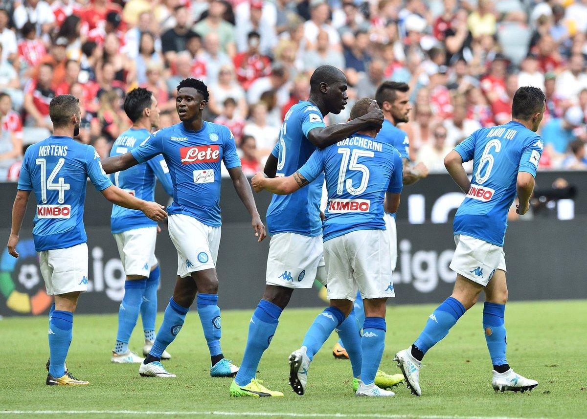Napoli, estate in tour per l'Europa: sfide a Liverpool, Tottenham, più Borussia o Barcellona