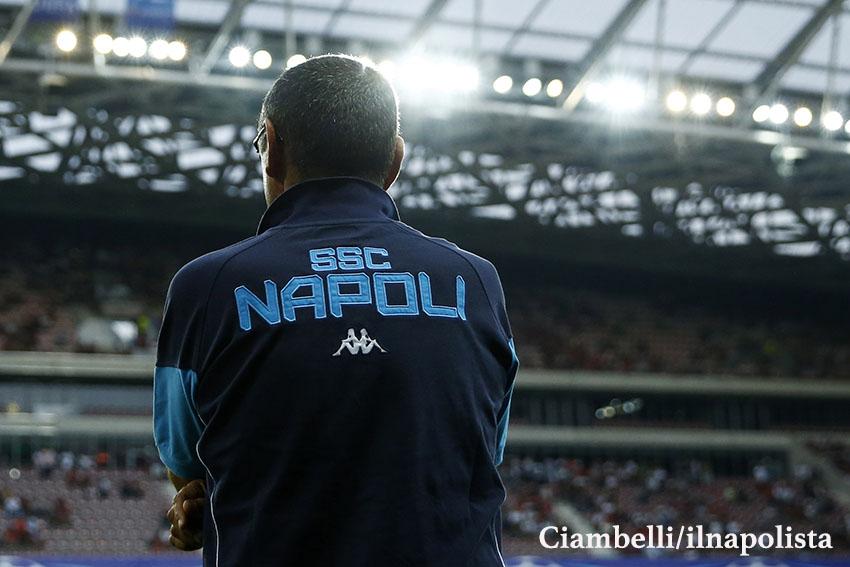 Sarri: «Mi dispiace se De Laurentiis non è contento, ho fatto il meglio per il Napoli»