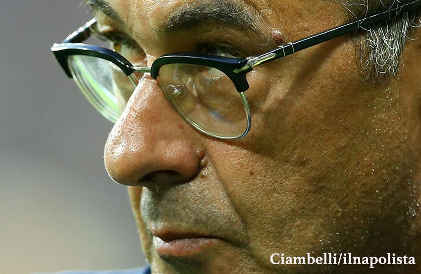 Sarri: «Bravi a riportare la partita sul piano del palleggio, possiamo fare ancora di più»