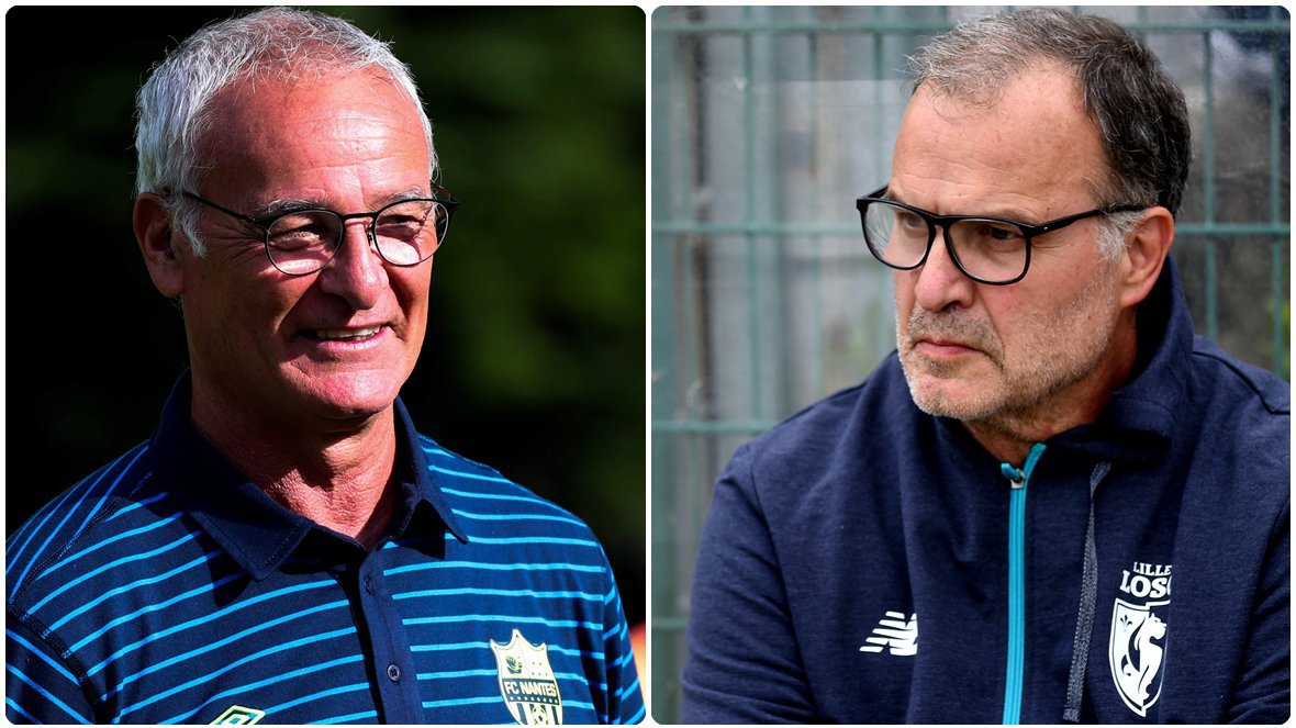 L'Equipe: Lille-Nantes è Bielsa contro Ranieri, «dogmatico contro pragmatico»