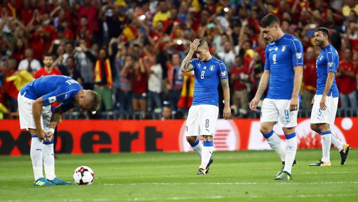 Un'Italia presuntuosa cade senza appello a Madrid
