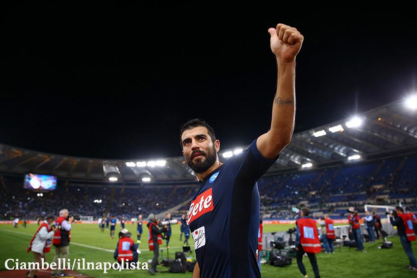 Napoli-Lazio, i convocati di Sarri: Albiol e Mertens sono a disposizione
