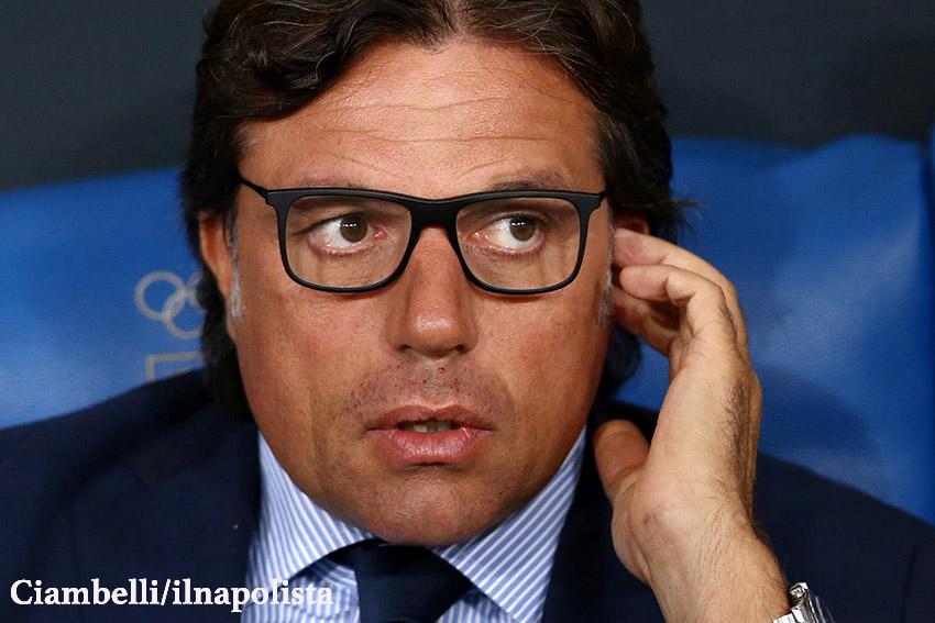 Giuntoli: «Il primo grazie a Chiavelli, la forza del Napoli è sempre stata cambiare poco»