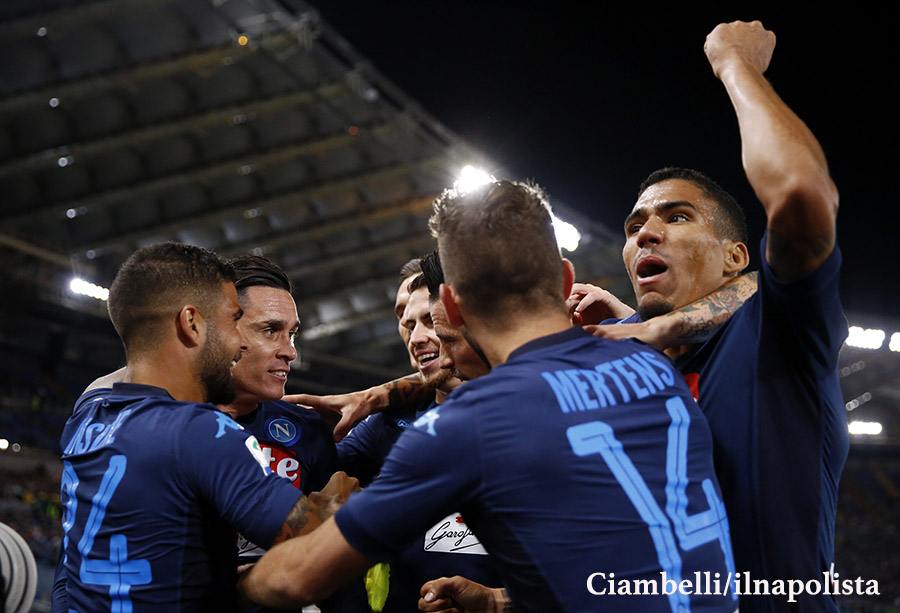 Al Napoli di quest'anno servono 5 tiri per un gol; l'anno scorso ne servivano 7