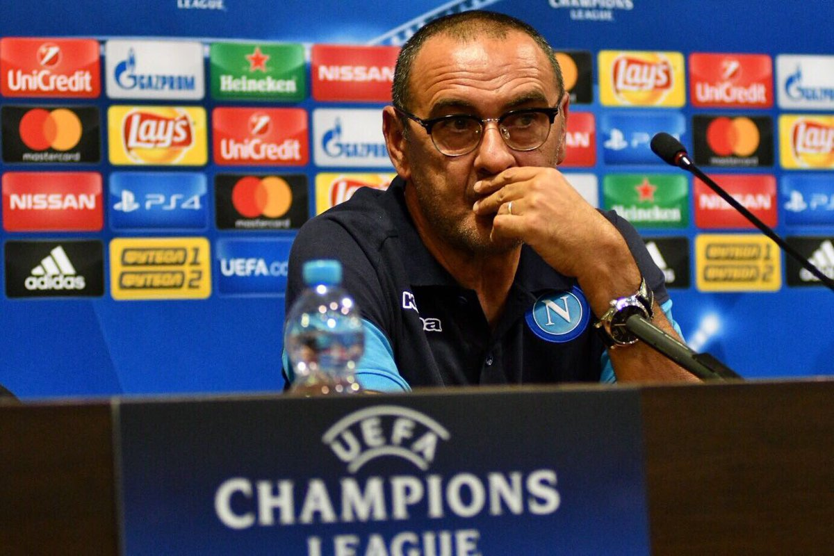 L'avvocato del Napoli: «La clausola di Sarri è scaduta. Chi lo vuole, deve trattare col club»