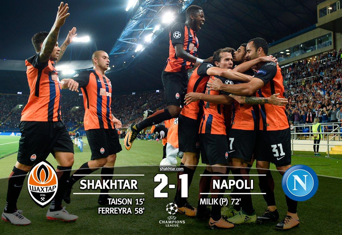 Quando il sorteggio è stato benevolo (Shakhtar, Dnipro), il Napoli è uscito