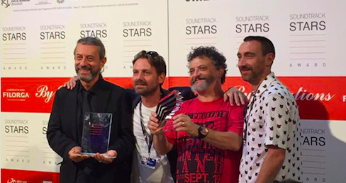 """Primo premio napoletano a Venezia per la colonna sonora di """"Ammore e malavita"""""""