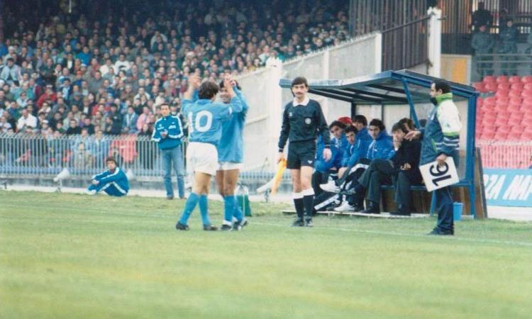These Football Times: l'apprendistato di Zola, a Napoli, con Diego Maradona