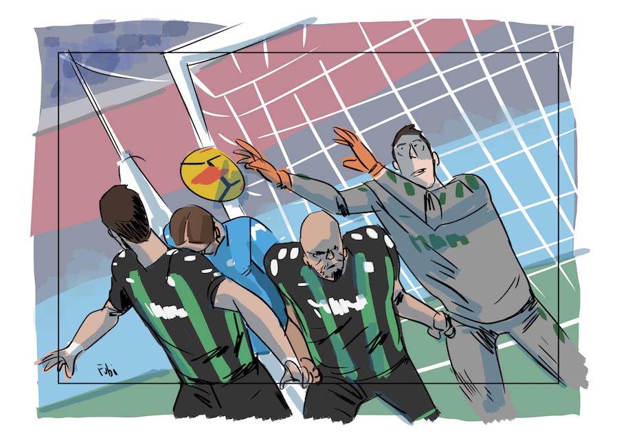 Napoli-Sassuolo 1-1 giocando benissimo. Napoli-Sassuolo 3-1 giocando bene (non sempre brillanti)