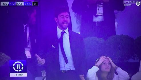 Diventa virale la rabbia di Agnelli per il gol sbagliato da Higuain