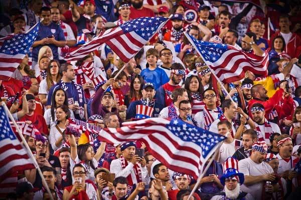 Il calcio (maschile) negli Stati Uniti funziona più come divertimento che come sport