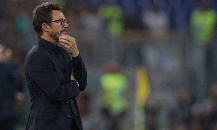 """Di Francesco: """"Il Napoli è una squadra forte. Dobbiamo avere più coraggio e malizia"""""""