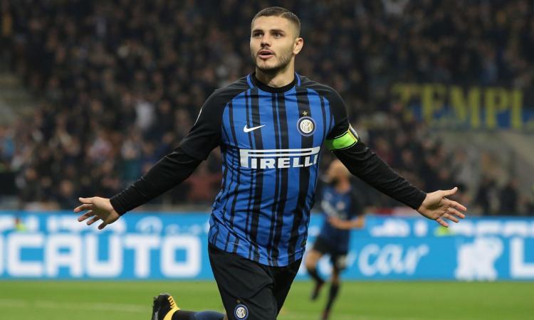 Icardi, sempre lui, decide il derby al 92esimo. Inter terza a due punti dal Napoli