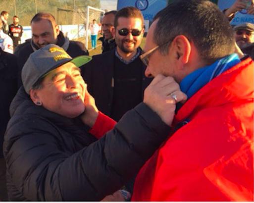 E se fosse Sarri il nuovo Maradona?
