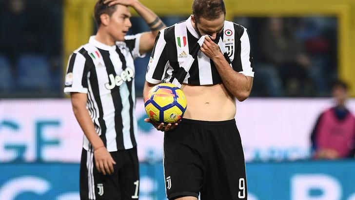 Sampdoria-Juventus 3-2, incubo bianconero (reazione solo nel finale): Napoli a +4