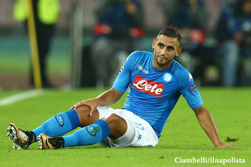 Il Napoli continuerà a giocare undici contro undici. Anche senza Ghoulam