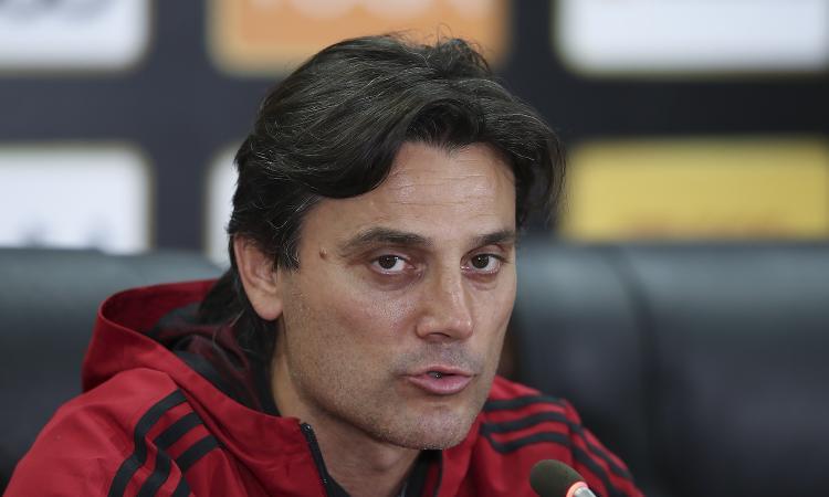 Montella: «Il Napoli è di una qualità superiore, eppure la partita è rimasta in bilico»