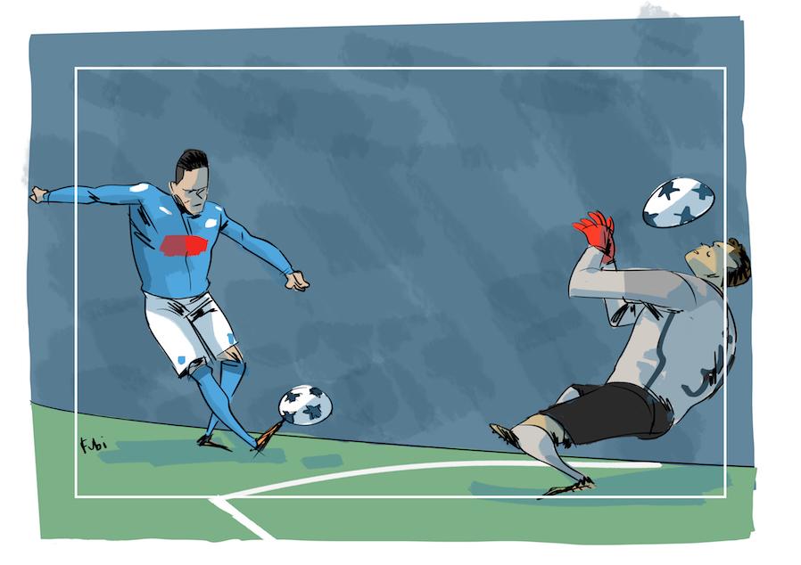 Il Manchester City è più forte del Napoli