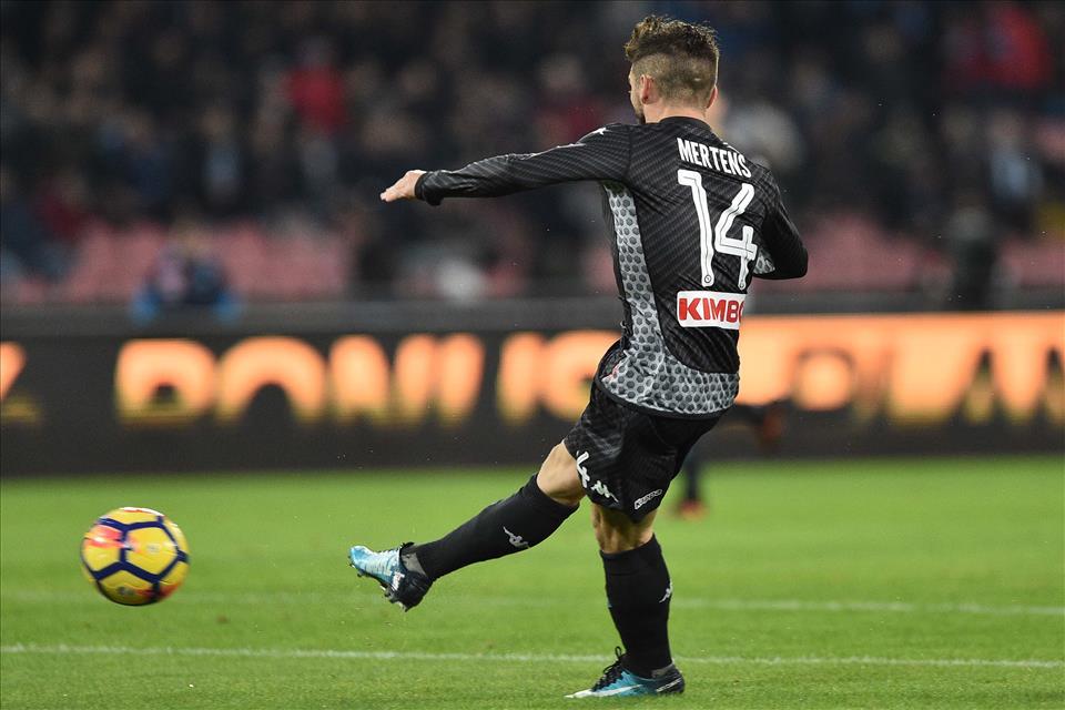 Mertens è decisivo per il Napoli, anche se non segna