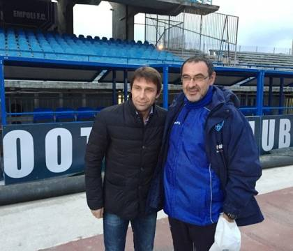 """Libero: """"i problemi li sta avendo Conte all'Inter, non Sarri"""