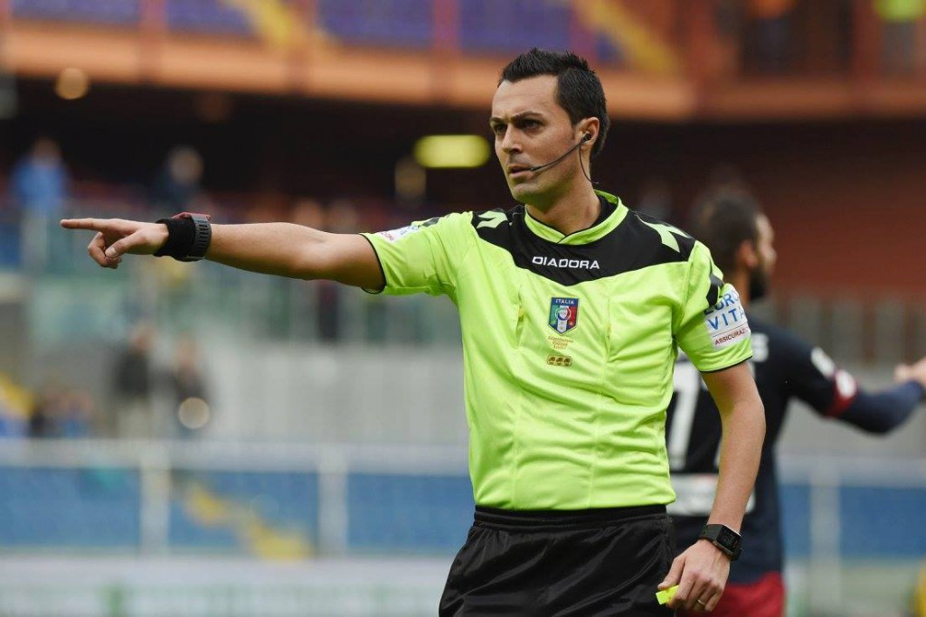 Napoli-Sassuolo, arbitra Di Bello: bilancio perfetto per gli azzurri