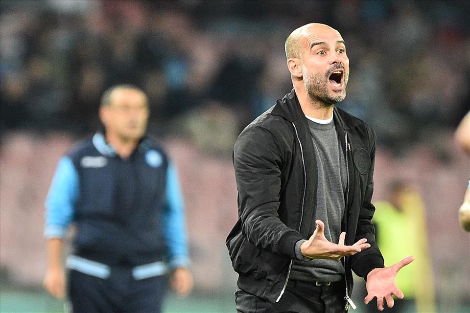 Guardiola: «Sarri non mi ha visto, le sue squadre le soffro sempre»