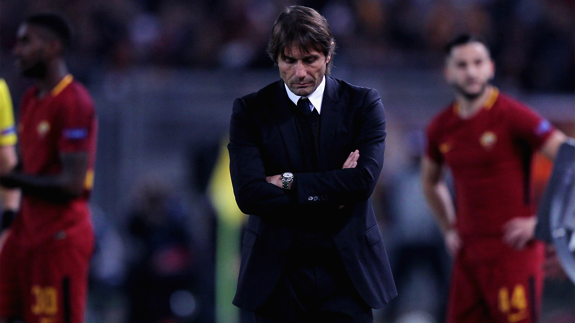 """""""Le rovine di Roma"""": la stampa inglese liquida il Chelsea e Antonio Conte"""