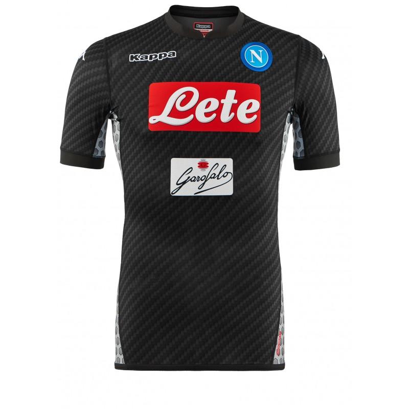 La nuova Kombat Carbon di Kappa, è grigia la quarta maglia del Napoli