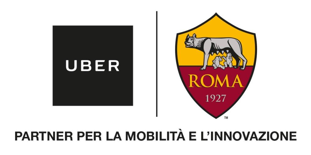 La partnership tra Roma e Uber: sconto ai tifosi giallorossi, da e per l'Olimpico