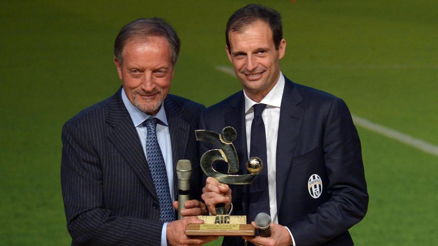 Il dissenso di Allegri verso Ulivieri, il tecnico della Juventus potrebbe lasciare l'Assoallenatori