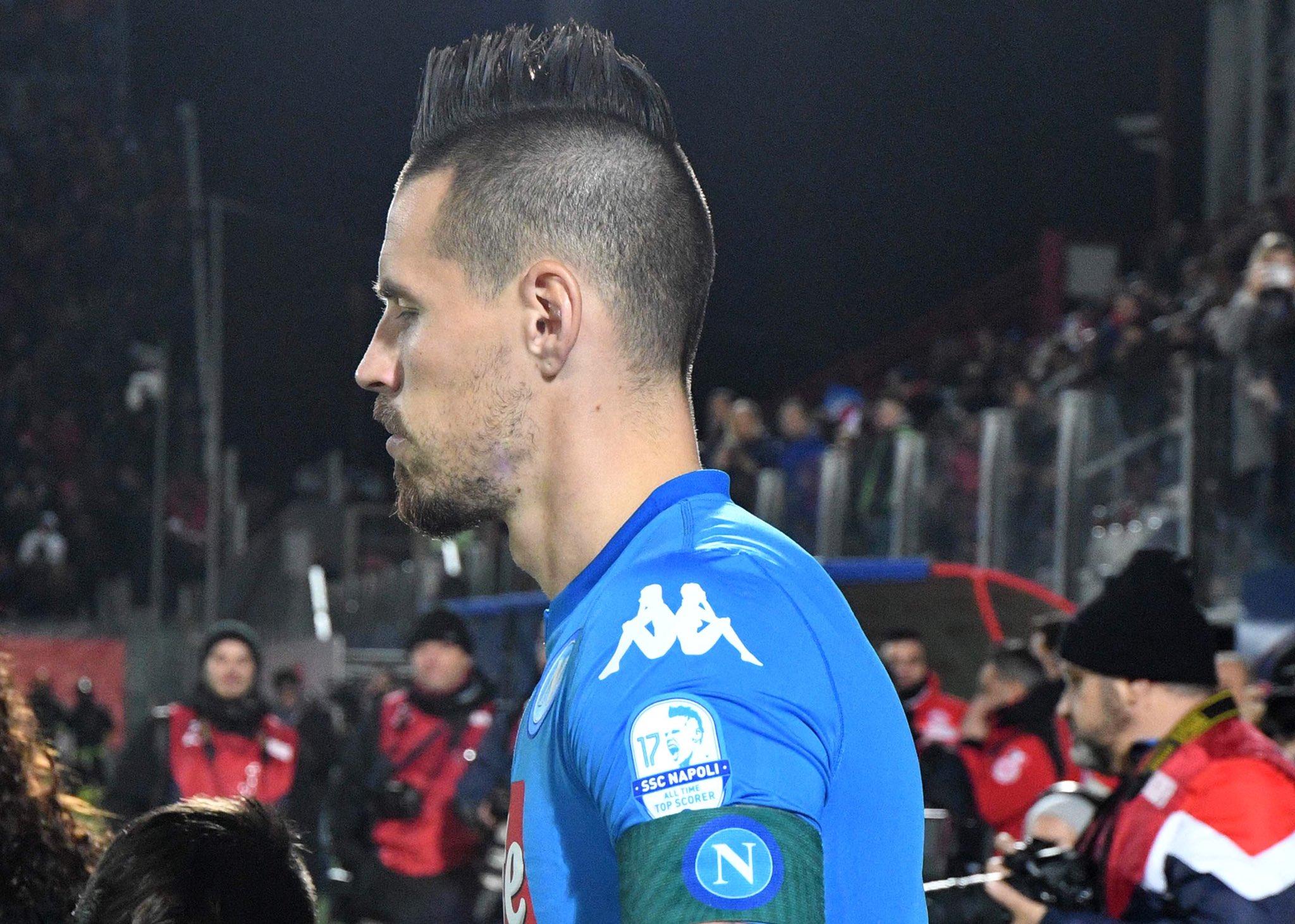 Crotone-Napoli 0-1, il primo tempo: allora Hamsik ci ha preso gusto