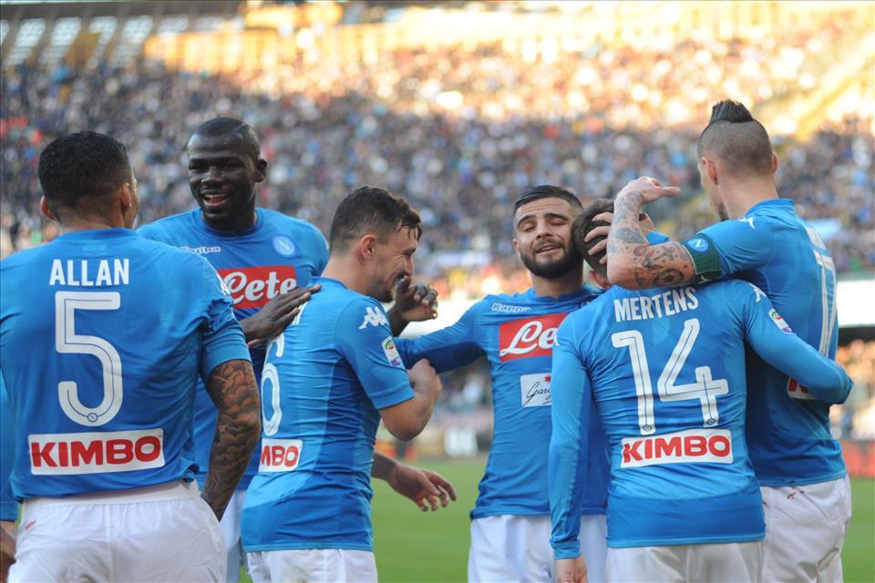Girone d'andata, le statistiche: il Napoli è meritatamente primo in classifica