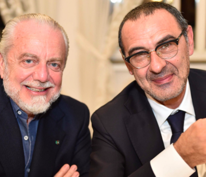 De Laurentiis: «Col 4 3 3 di Sarri eravamo noti in Europa. G